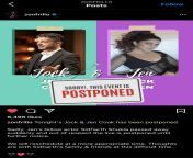 Jock was supposed to have a cooking session with Jennifer Winget (an Indian actor). The event has been postponed as we lost another Indian actor,Sidharth Shukla. https://www.instagram.com/p/CTVphqBhqnG/?utm_medium=share_sheet from all indian bangla actor neket photos x x x comww xn comশিয়ান এক্সএক্সএক্স ভিডিও এমপি4ংলাভিডিও